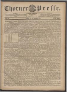 Thorner Presse 1899, Jg. XVII, Nr. 268 + Beilage