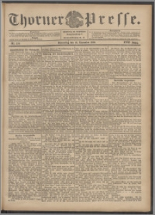 Thorner Presse 1899, Jg. XVII, Nr. 270 + Beilage