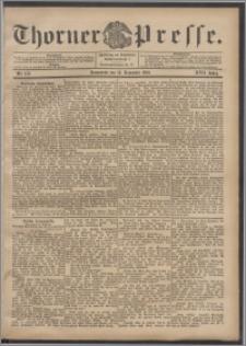 Thorner Presse 1899, Jg. XVII, Nr. 272 + Beilage