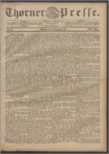 Thorner Presse 1899, Jg. XVII, Nr. 275 + Beilage