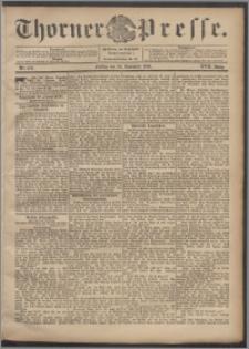 Thorner Presse 1899, Jg. XVII, Nr. 276 + Beilage