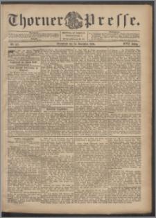 Thorner Presse 1899, Jg. XVII, Nr. 277 + Beilage