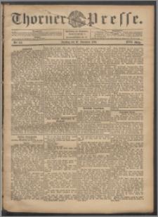 Thorner Presse 1899, Jg. XVII, Nr. 278 + 1. Beilage, 2. Beilage