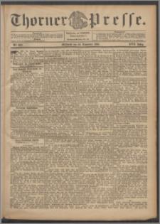 Thorner Presse 1899, Jg. XVII, Nr. 280 + Beilage