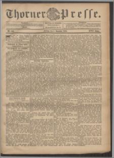 Thorner Presse 1899, Jg. XVII, Nr. 282 + Beilage