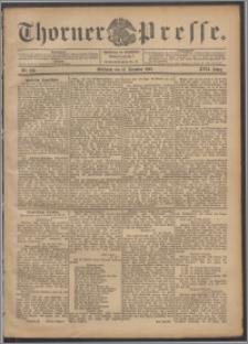 Thorner Presse 1899, Jg. XVII, Nr. 292 + Beilage