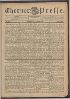 Thorner Presse 1899, Jg. XVII, Nr. 303 + Beilage, Extrablatt