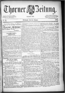 Thorner Zeitung 1887, Nr. 21