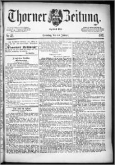 Thorner Zeitung 1887, Nr. 25