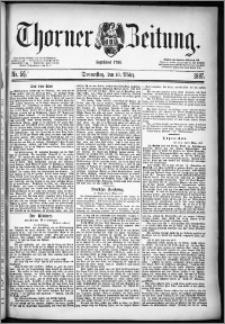 Thorner Zeitung 1887, Nr. 58 + Beilagenwerbung