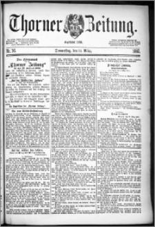 Thorner Zeitung 1887, Nr. 76