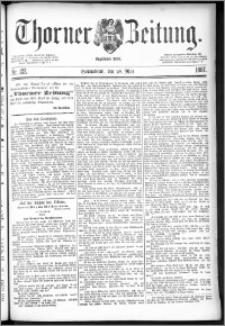 Thorner Zeitung 1887, Nr. 122