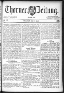 Thorner Zeitung 1887, Nr. 139
