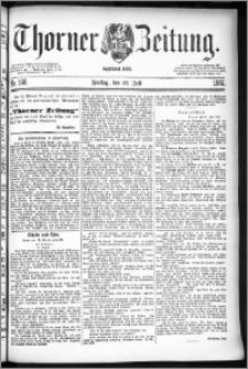 Thorner Zeitung 1887, Nr. 168