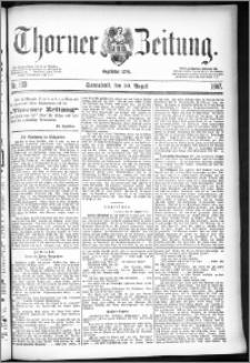 Thorner Zeitung 1887, Nr. 193