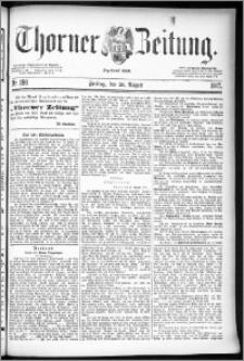 Thorner Zeitung 1887, Nr. 198