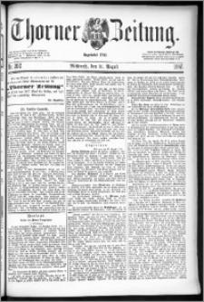 Thorner Zeitung 1887, Nr. 202