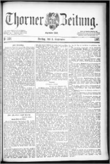Thorner Zeitung 1887, Nr. 204