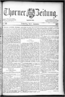Thorner Zeitung 1887, Nr. 209