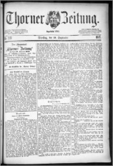 Thorner Zeitung 1887, Nr. 219