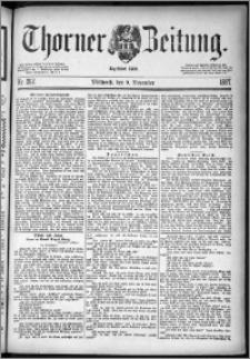 Thorner Zeitung 1887, Nr. 262