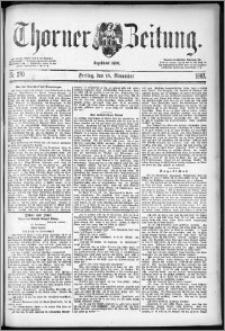 Thorner Zeitung 1887, Nr. 270