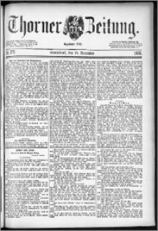 Thorner Zeitung 1887, Nr. 271