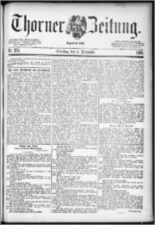 Thorner Zeitung 1887, Nr. 285 + Beilage