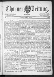 Thorner Zeitung 1888, Nr. 2