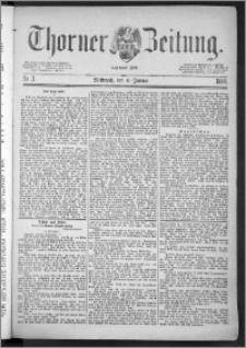 Thorner Zeitung 1888, Nr. 3