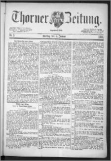 Thorner Zeitung 1888, Nr. 5