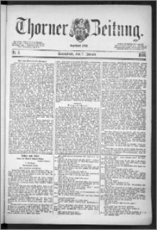 Thorner Zeitung 1888, Nr. 6