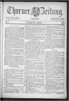 Thorner Zeitung 1888, Nr. 7