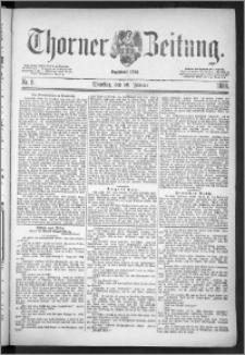 Thorner Zeitung 1888, Nr. 8