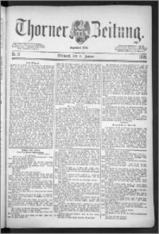 Thorner Zeitung 1888, Nr. 9