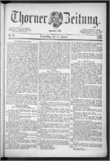 Thorner Zeitung 1888, Nr. 10