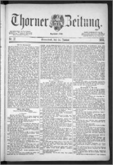 Thorner Zeitung 1888, Nr. 12