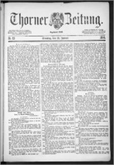 Thorner Zeitung 1888, Nr. 13