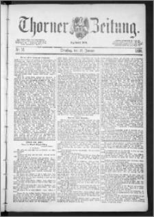 Thorner Zeitung 1888, Nr. 14