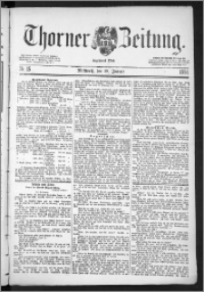 Thorner Zeitung 1888, Nr. 15