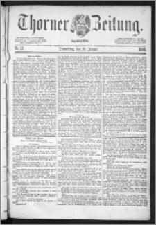 Thorner Zeitung 1888, Nr. 16