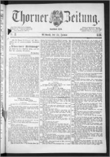 Thorner Zeitung 1888, Nr. 21