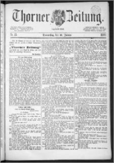 Thorner Zeitung 1888, Nr. 22