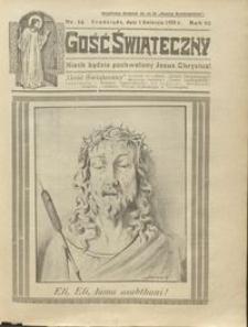 Gość Świąteczny 1928.04.01 R. XXXII nr 14