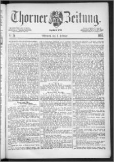 Thorner Zeitung 1888, Nr. 27