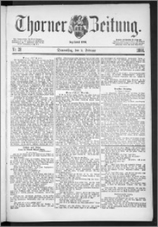 Thorner Zeitung 1888, Nr. 28