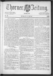 Thorner Zeitung 1888, Nr. 29