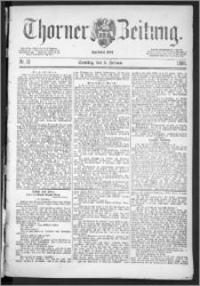 Thorner Zeitung 1888, Nr. 31