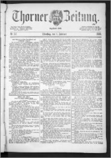 Thorner Zeitung 1888, Nr. 32 + Beilage