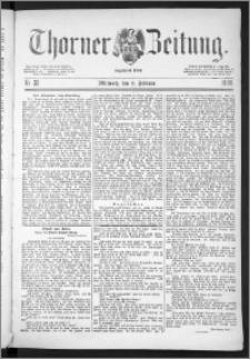 Thorner Zeitung 1888, Nr. 33